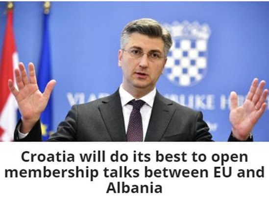 Positive signals from the EU, Albania OSCE chair, Danish business missed, economic history, e-Albania, The F.T. ranks Albania as top destination.