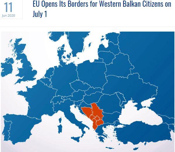 Borders opening, politics, the 15 EU demands, IT and tourism.