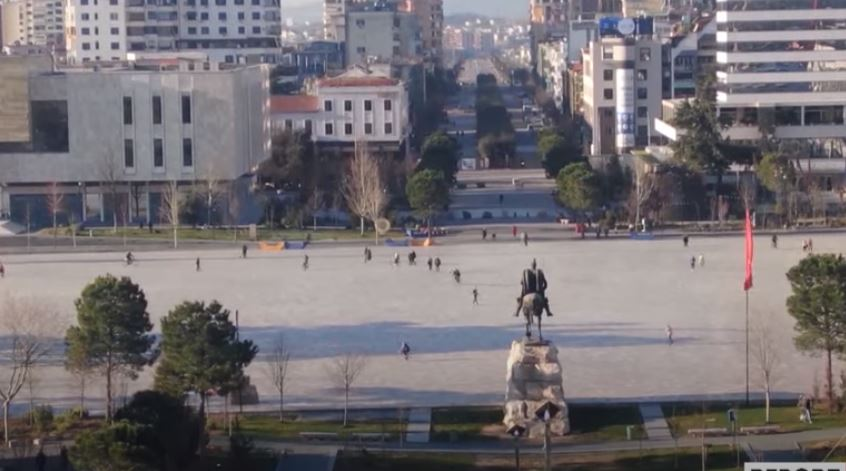 The center of Tirana, Afghan refugees will find shelter in Albania, an interview with PM Edi Rama, Nautic Albania and ESS confidence index.